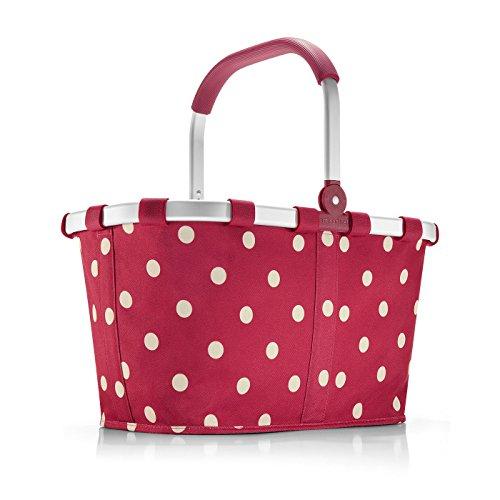 Reisenthel carrybag Ruby dots rot Punkte - Design Einkaufskorb Korb rote Pünktchen