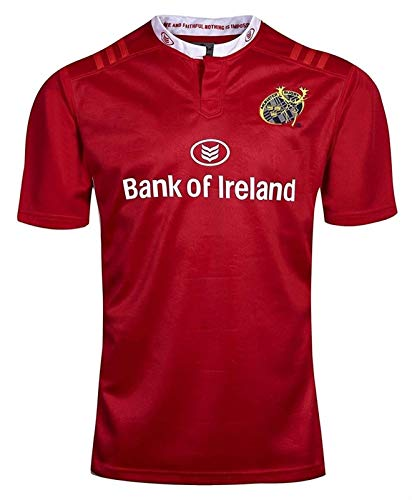 2017 Munster City Rugby-Trikots, Weltmeisterschaft Herren Rugby-Hemd-Shirt, professionelles T-Shirt Outdoor Training Shirt Shirt Stretch Schnelltrocknung, Geschenk für einen Freund