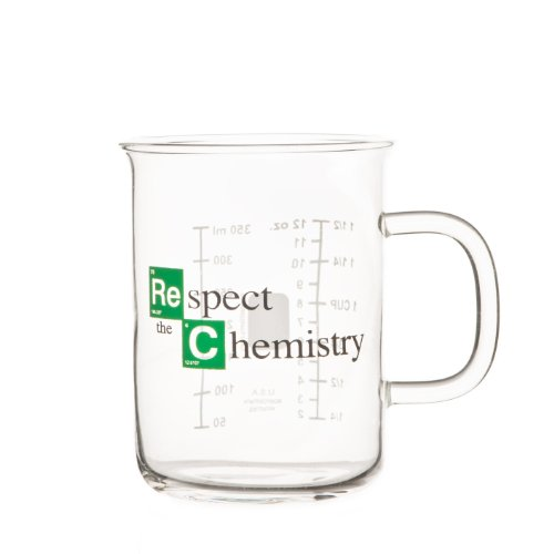 'Respect the Chemistry' - Vaso de laboratorio inspirado en la...