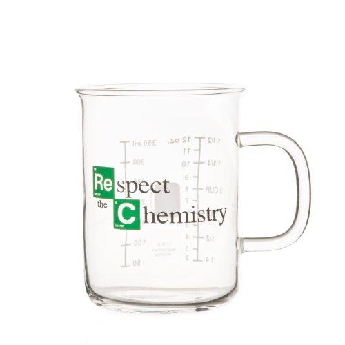 'Respect the Chemistry' - Vaso de laboratorio inspirado en la...