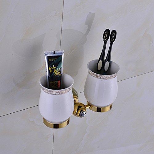 XBR salle de bains matériel pendentif, new jade, deux verres, amants brosse à dents tasse, tasse - brossage,golden