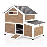Chicken Coop By Cozy Pet New 2021 Model Hen House Poultry Coup Ark Nest Box CC12N (We do not ship to Channel Islands.)