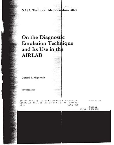 On the diagnostic emulation technique and its use in the AIRLAB (English Edition)