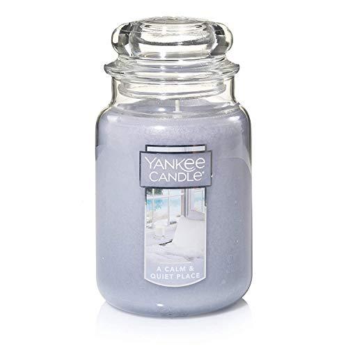 Yankee Candles A Calm & Quiet Place - Candela in barattolo grande, fragranza fresca