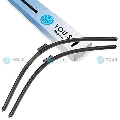 YOU.S Original A110S SCHEIBENWISCHER VORNE 700/650 mm (2 Stück)