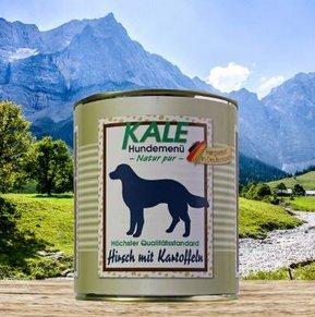 Kale Nassfutter Hund Hirsch mit Kartoffeln (6 x 800g)