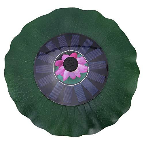KASD Fuente Solar, Bomba De Fuente De Energía Solar Arranque Automático Solar para Circulación De Agua Suministro De Oxígeno para Baño De Aves
