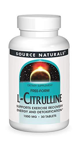 Source Naturals L-Citrulline, 1000mg, 30 Tablets