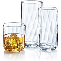 Luminarc Riviera 18-Piece Glassware Set (Clear)