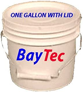 1 Gallon White Bucket with Lid | Per 6 Pack