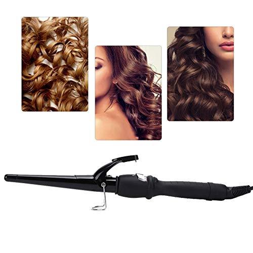 Bigoudi professionnel, fer à friser, outil de coiffure professionnel en céramique électrique, fer à friser, fer à friser, boucler rapidement votre coiffure(32)