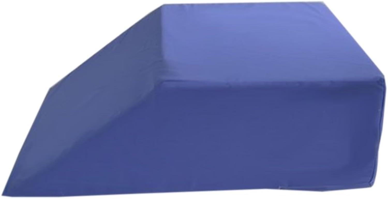 AlexOrthopedic Polyurethane Foam Leg Wedge 8  bluee by Alex Orthopedic