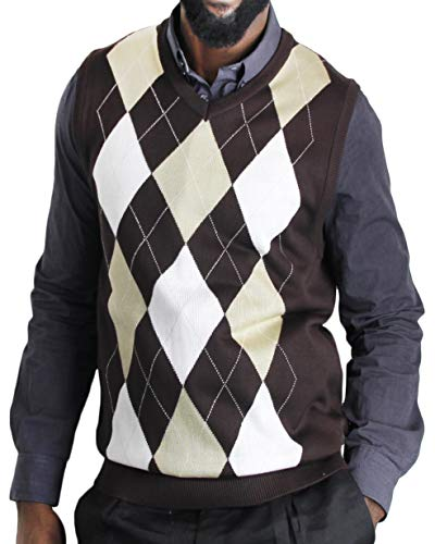 Argyle Sweater Vest for Mens
