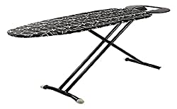 Peng Essentials Steel Folding or Adjustable Ironing Board with Iron Holding Tray (Grey),PENG ESSENTIALS,ironing board