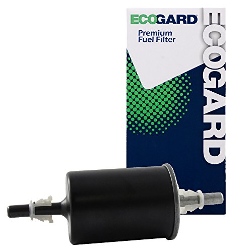 ECOGARD XF64702 Engine Fuel Filter - Premium Replacement Fits Chevrolet Colorado, Express 1500, Express 3500, Express 2500, Caprice, Impala, Lumina APV, Corsica, Beretta/Cadillac DeVille, Seville