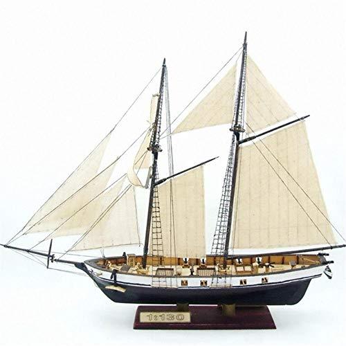 SIourso Maquetas De Barcos para Montar 1: 130 Escala Modelo