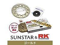 サンスター KR55413 スプロケット&チェーンキット(ゴールド) CB1300スーパーボルドール CB1300スーパーフォア(CB1300SF) CB1300スーパーツーリング
