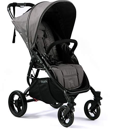 Valco Baby Snap4 Single Stroller Snap Estuche de extracción Negro Dove Grey