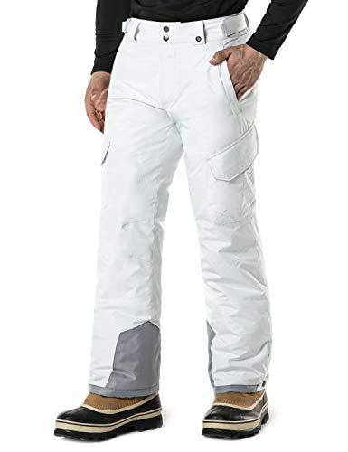 TSLA DRST Men's Winter Snow Pants, Water Repellent Insulated Ski Pants, Ripstop Windproof Snowboard...