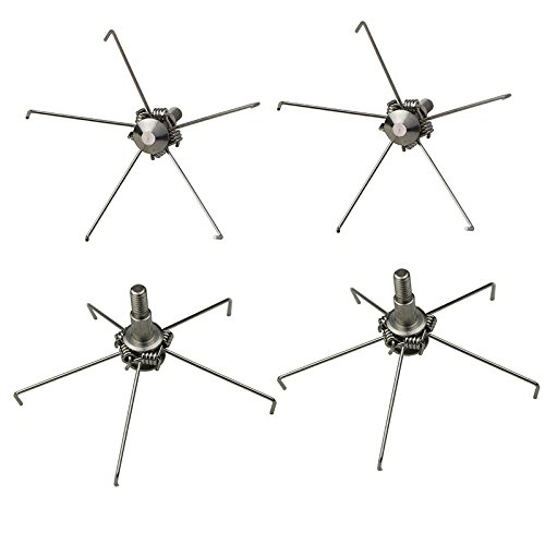 Mangobuy 6PCS Tiro con Arco Caza Ballesta ArrowHeads 100 Grano Judo Arrow Heads para Animales pequeños