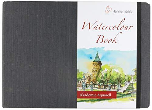 Aquarellbuch, Landschaftsformat 200 g/m², 30 Blatt/60 Seiten, A4