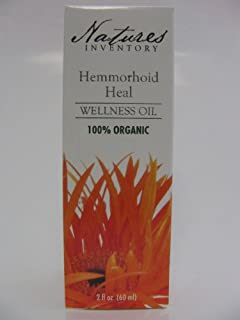 Hemorrhoid Heal Wellness Oil Nature's Inventory 2 oz Liquid