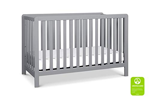 Discover Bargain Carter's by DaVinci Colby 4-in-1 Low-Profile Convertible Crib in Navy Blue | Greeng...