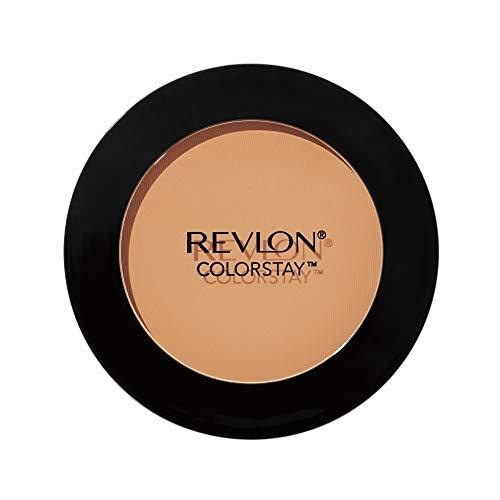 Revlon ColorStay Pressed Powder, Longwearing Oil Free, Fragrance Free, Noncomedogenic Face Makeup, Medium/Deep (850)