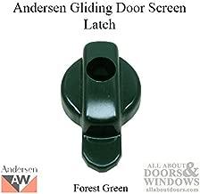 Andersen Perma-Shield Gliding Door - Door Latch - Insect Screen - 2/3 Panel - Forest Green