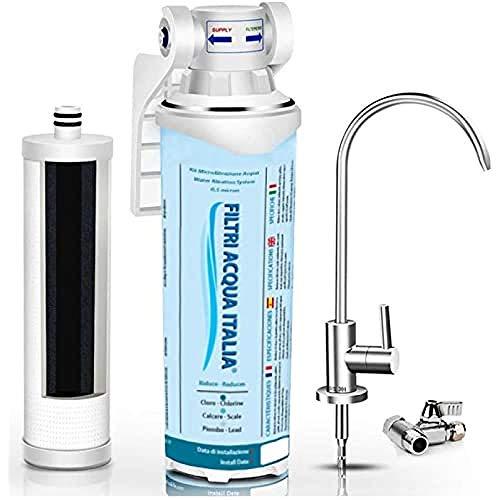 Filtri Acqua Italia Kit Depuratore Acqua Microfiltrazione 730C