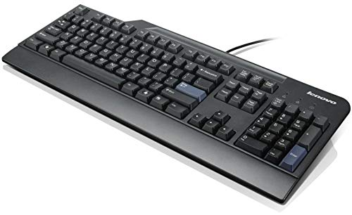 Lenovo Preferred Pro USB Wired Black Computer UK QWERTY Keyboard (Compatible Part Numbers: 41A5289, SK-8825, 54Y9400, 00XH575, KB1021)