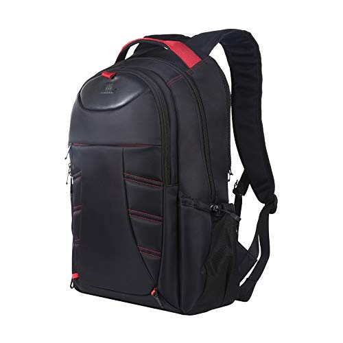 Aixgxt Travel Business Backpack, Extra Large Anti-Theft Laptop Backpack Bag with USB Charging Port, Waterproof College School Bag Fits 15.6 Inch Computer Notebook for Men & Women