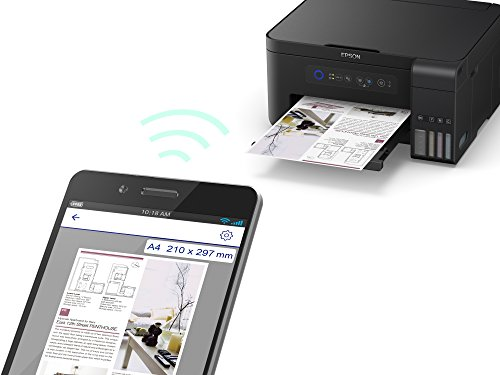 Epson  ET-2700, Impresora Inalámbrica 3 en 1, Wi-Fi, USB,  Color, Tamaño Único, color Negro