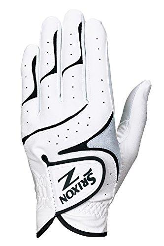 DUNLOP(ダンロップ) SRIXON ゴルフ グローブ(手袋) GGG-S016 ホワイト/ブラック 22 ゴルフグローブ