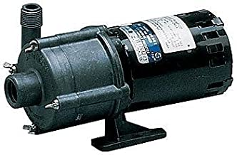Little Giant 2-MD-HC 1/30 HP, 30 LPM, 230V - Inline Magnetic Drive Pump, For Highly-Corrosive Chemicals, 1.8m Power Cord (580614)