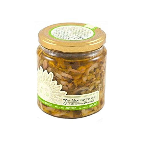 Masseria Mirogallo, Zucchine alla scapece in olio extra vergine