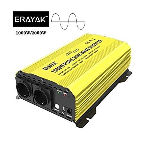 nuovissimo tipo smart presa EU caricatore intelligente modalit/à di commutazione facile per batteria 6V // 12V completamente automatico 8 passaggi ERAYAK 5 Amp Caricabatterie