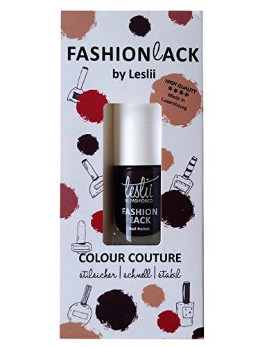 Leslii Nagellack Colour Couture Pflaume | Damen-Accessoires Fashionlack | Inhalt: 5ml 552441300