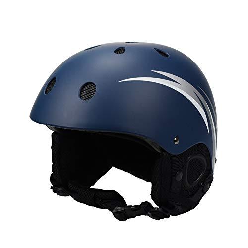 Volwassen skihelm, met vizieren Unisex Sneeuwhelm met Antiglare Lens PC Shell EPS Padding Controllable Vents Helm voor Skiën Schaatsen Fietsen