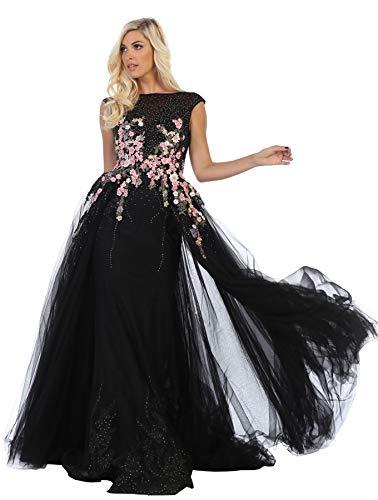 공식 드레스 가게 INC 로얄 퀸 RQ7596 레드 카펫 정장 이브닝 가운
