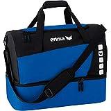 erima Sporttasche mit Bodenfach, New Royal/Schwarz, M, 49.5 Liter, 723335