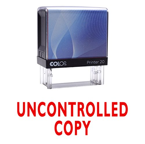UNCONTROLLED COPY Selbstfärber Stempel Individuelle Colop Büro Stationär P20 Mini Stamper