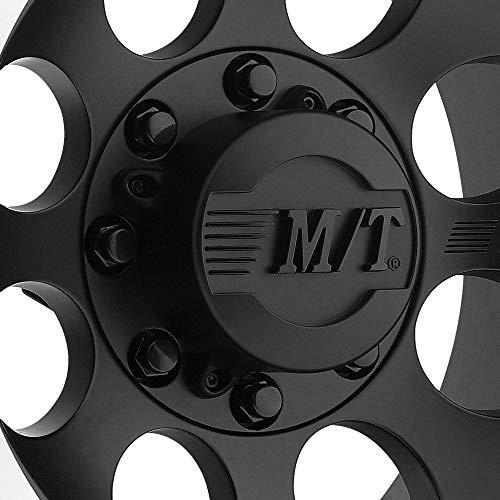 0 millimeters offset 16x8//5x5.5 Mickey Thompson Deegan 38 PRO 4 Black Wheel with Matte Black Finish