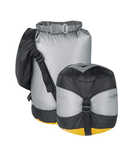 Sea to Summit Ultra-Sil Compression Dry Sacks, Grey, 10 Liter