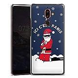DeinDesign Nokia 7 Plus Coque Étui Housse Paris Saint-Germain Produit sous Licence Officielle Noel