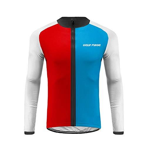 Uglyfrog Magliette Jersey Uomo Mountain Bike Manica Lunga Camicia Top Abbigliamento Ciclismo Autunno Style CXMX07