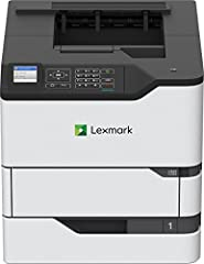 Form Factor: Wide Format Printer Form Factor: Wide Format Printer The Lexmark B2865dw Brings Performance To Its Class With A First Page As Fast As 4.2 Seconds Output Up To 65 Pages Per Minute Two-sided Printing