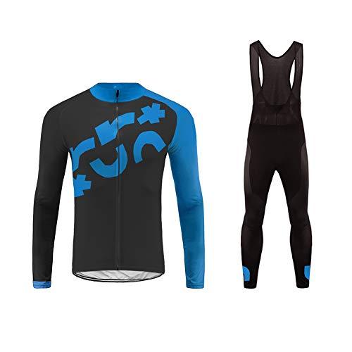 Future Sports UGLYFROG Conjunto de Ropa Bicicleta, Maillots Jersey Manga Larga & Pantalones...
