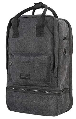 Globe Unisex-Erwachsene Dion Vagabond Backpack Rucksack, Schwarz (Lead), 15x24x45 centimeters