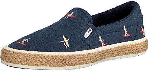 GANT Footwear Herren Fresno Slip On Sneaker, Blau (Marine Surfer G681), 43 EU